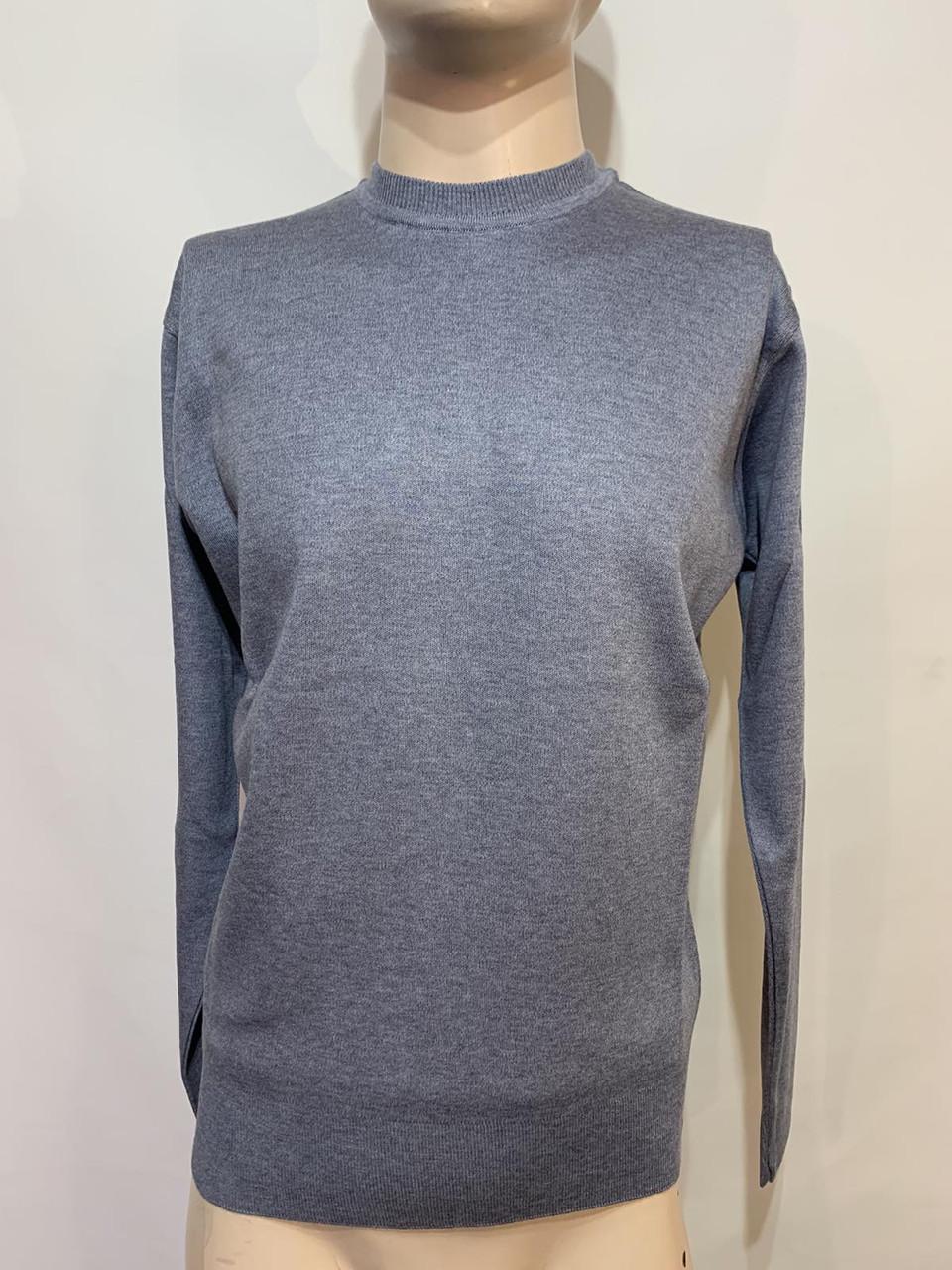 Чоловічий джемпер, чоловічий светр, пуловер Туреччина джинсовий