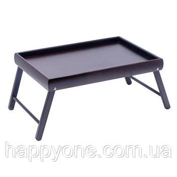 Столик для завтрака мини Black (венге)