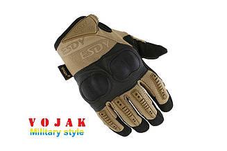 Перчатки тактические полнопалые ESDY Койот