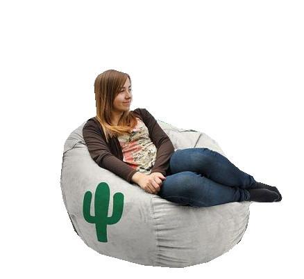 Крісло мішок Кактус сірий