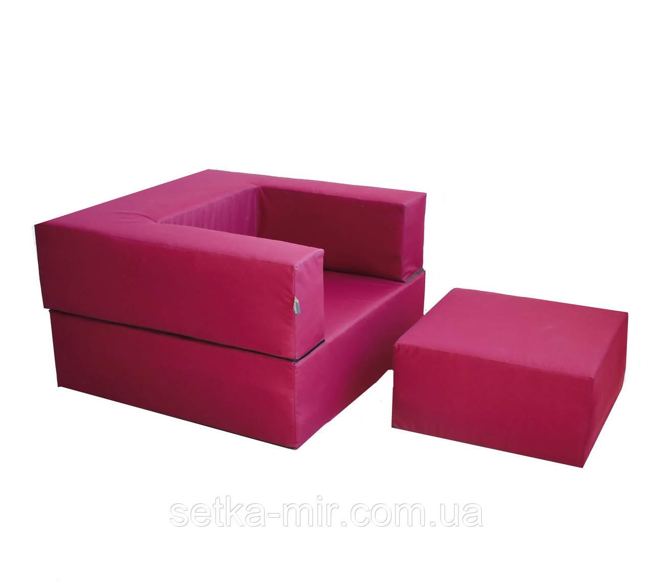 Комплект меблів Zipli (крісло і пуф)