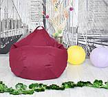 Крісло груша Оксфорд Бордо, фото 2