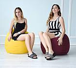 Кресло груша Оксфорд Бордо, фото 3
