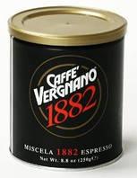 Натуральный итальянский молотый кофе Caffe`Vergnano ж\б 250г