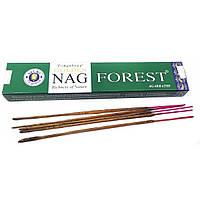 Аромапалочки Golden nag Forest масала благовония 15 г для медитации