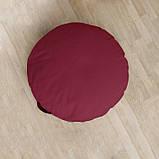 Мягкое сиденье-подушка круглая Оксфорд, фото 3