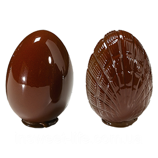 """Полікарбонатна форма для фігур """"Яйце 10см """""""