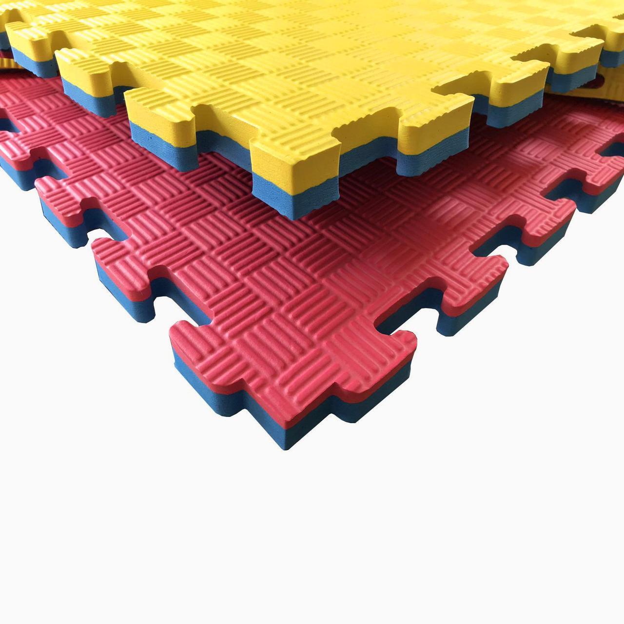 Коврик Ласточкин Хвост желто-синий 25 мм