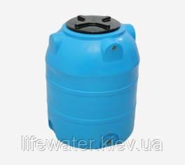 Емкость V-350, пищевая пластиковая бочка, бак для воды