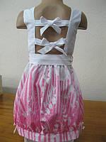 Нарядное платье детское, летнее для девочки (хлопок 100%). 104, 110, 116, 122