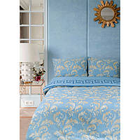 Постельное белье Lotus Ranforce - Sigma голубой семейное