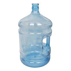 Бутыль для воды  с литой ручкой поликарбонат 18,9 л (00000003208)
