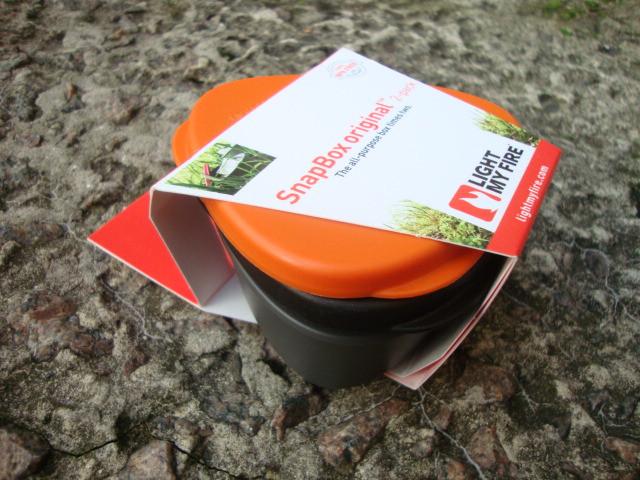 Набор ланчбоксов Light My Fire SnapBox Original (Orange-Black)
