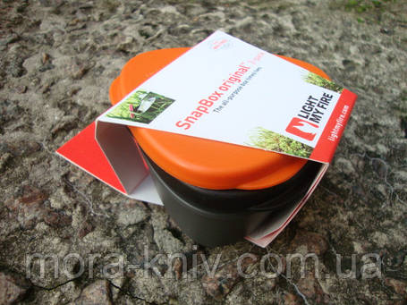 Набор ланчбоксов Light My Fire SnapBox Original (Orange-Black), фото 2