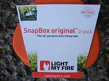 Набор ланчбоксов Light My Fire SnapBox Original (Orange-Black), фото 3