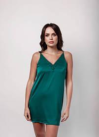 Сорочка l'amore шовк зелена