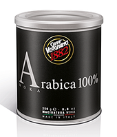 Итальянский молотый кофе арабика Caffe`Vergnano ARABICA 100% ж\б 250г