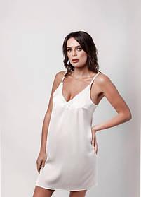 Сорочка l'amore шовк біла