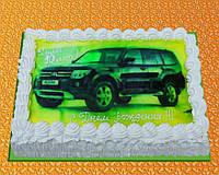 """Фото-торт на заказ """"Машина"""""""