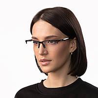 Очки компьютерные IQ Vision BASE-SEMI женские в полу-оправе черные (2021)