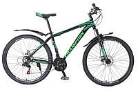 "Велосипед Champion Lector 27,5"" чорно-зелений"