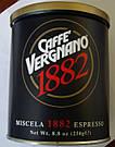 Натуральный итальянский молотый кофе Caffe`Vergnano ж\б 250г, фото 2