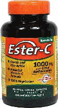 Эстер Си-1000, American Health, Ester-C with Citrus Bioflavonoids, 1000mg, 90 caps