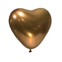 Воздушный шар Сердце Kalisan Золото