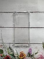 Прозрачный силиконовый чехол с утолщёнными углами для Realme 6