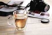 Стеклянная чашка с двойными стенками (350 мл), фото 4