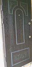 Двері АКЦІЙНІ PRESTIGE 97 №20-50 підлогу. венгеL глуха +KALE (лиштва + ручка)