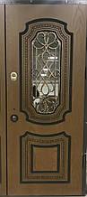 Двері АКЦІЙНІ PRESTIGE 97 №20-56 полімер дуб золотий R(лиштва + ручка)
