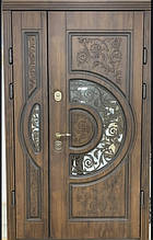 Двері АКЦІЙНІ PRESTIGE 97 №20 - 61 полімер дуб зол R(лиштва + ручка)