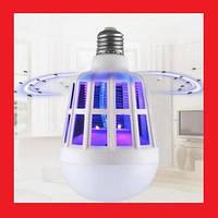 Відлякувач Pest repeller light Антимоскітна лампа-світильник від комарів, фото 1