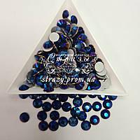 "Стрази ss20 Metallic Blue (5,0 мм) 1400шт ""Crystal Premium"""
