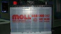 Аккумулятор MOLL KAMINA START 55 Ач 10555059042