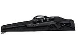 Чехол ружейный Black 115 см. для винтовки с оптикой., фото 3