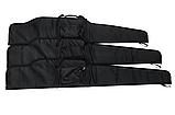 Чехол ружейный Black 115 см. для винтовки с оптикой., фото 4