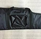 Чехол ружейный Black 115 см. для винтовки с оптикой., фото 5