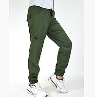Детские штаны джогеры на мальчика (без флиса) рост от 128 до 158