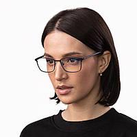 Очки компьютерные IQ Vision PRO женские в стильной и легкой оправе синие (2021)
