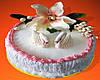 "Торт свадебный на заказ ""Лебеди"""