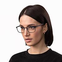Очки компьютерные IQ Vision PRO женские в стильной и легкой оправе чёрные (2021)