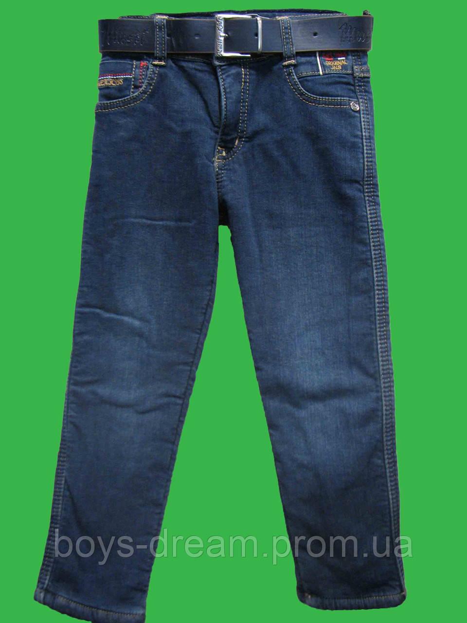 Утепленные джинсы для мальчика (152-176) (Турция)