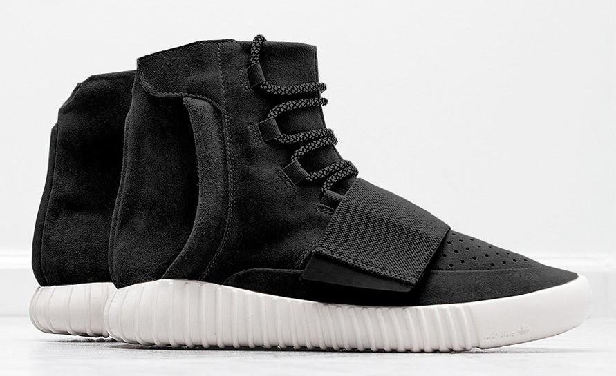 Зимние кроссовки на меху Adidas Yeezy Boost 750 в черном цвете - Интернет  магазин обуви « 203307b49c0