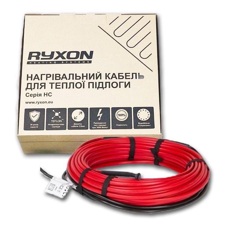 5 m2 Тепла підлога Ryxon HC-20 800 W електричний нагрівальний двожильний кабель під плитку 40 м