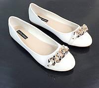 Женские балетки, лодочки туфли , туфли, на плоской подошве от производителя