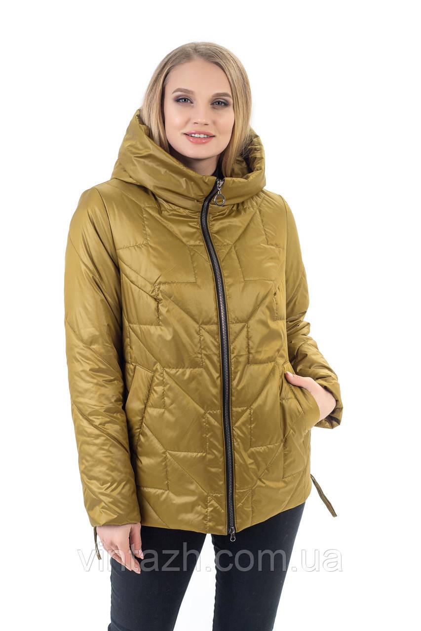 Красива жіноча куртка осінь-весна, розмір 48-60