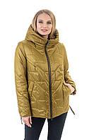 Красива жіноча куртка осінь-весна, розмір 48-60, фото 1