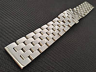 Браслет для годинника з нержавіючої сталі 316L, литий, глянець. 20 мм, фото 1